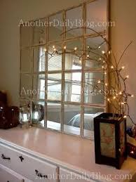 another daily 699 pottery barn white paned mirror diy knock