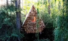 100 Tree House Studio Wood Birdhut Aframe House By North Wowow Home Magazine
