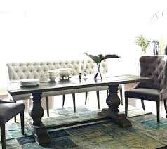 Upholstered Bench With Back Dining Best Ideas On Throughout Prepare