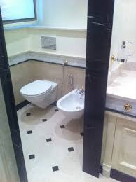 vito de luca architetto klassische badezimmer marmor beige