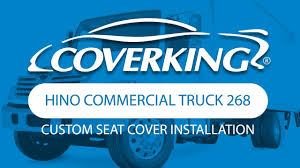 COVERKING® 2014-2018 Hino Commercial Truck 268 Custom Seat Cover ...