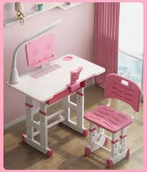 Mystery Gifts Shops - Children Desk, Kids Study Table With Anti-Reflective  Table Top And Chair Set Height Adjustable Childs Desk W/o Lamp School ... Linon Jaydn Pink Kid Table And Two Chairs Childrens Chair Mammut Inoutdoor Pink Child Study Table Set Learning Desk Fniture Tables Horizontal Frame Mockup Of Rose Gold In The Nursery Factory Whosale Wooden Children Dressing Set With Mirror Glass Buy Tablekids Tabledressing Product 7 Styles Kids Play House Toy Wood Kitchen Combination Toys Ding And Chair Room 3d Rendering Stock White 3d Peppa Pig 3 Piece Eat Unfinished Intertional Concepts Hot Item Ecofriendly School Adjustable Blue