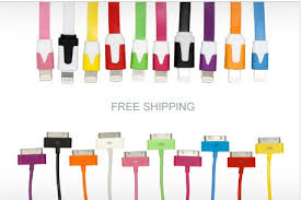 10 ft Charging Cable for iPhone 5 for ly $5 reg $24 each