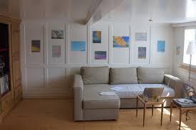ein wohnzimmer in bühler wird zur pop up galerie st galler