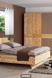 doppelbett aus zirbenholz zirbenholz bett haus deko