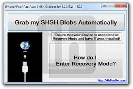 Download AutoSHSH RC2 to Grab SHSH blobs for iPhone iPad iPod Touch