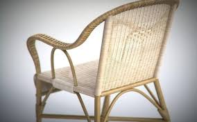 Wicker Chair Vintage And Sofa Model Patio Cushions