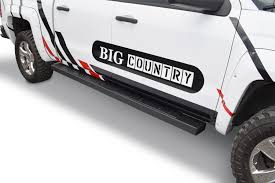 Big Country Truck Accessories 6 WIDESIDER Platinum II Textured Black ...