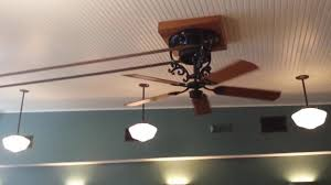 Belt Driven Ceiling Fans Australia by Fanimation Bourbon Street Belt Drive Ceiling Fan Installation Feat