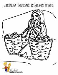 New Coloring Page Jesus Feeds 5000 With Pages