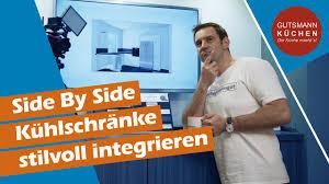 wie integriert einen side by side kühlschrank in die küche wir zeigen euch stilvolle lösungen