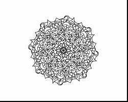Spectacular Hard Mandala Coloring Pages With Challenging And Halloween