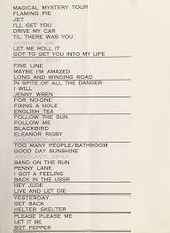 Smashing Pumpkins Acoustic Tour Setlist by 77 Best Concert Set List And Backstage Stuff Images On Pinterest