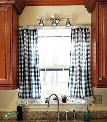 Black And White Kitchen Curtains For Large Size Of Excellent