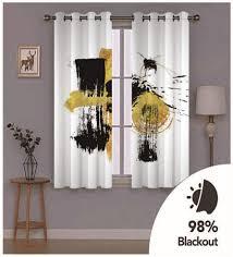 zzzxx gardinen vorhang vorhänge wohnzimmer 2er set vorhang