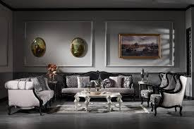 casa padrino luxus barock ohrensessel silber schwarz 77 x 85 x h 110 cm wohnzimmer sessel mit edlem muster barock möbel