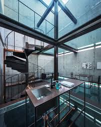 100 Glass Floors In Houses This Upended Abode Has Stead Of Windows