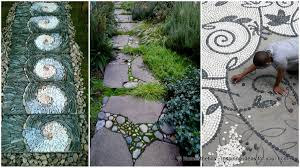 29 Garden Pathway Pebble Mosaic Ideas For Your Home Surroundings Great 22 Garden Pathway Ideas On Creative Gravel 30 Walkway For Your Designs Hative 50 Beautiful Path And Walkways Heasterncom Backyards Backyard Arbors Outdoor Pergola Nz Clever Diy Glamorous Pictures Pics Design Tikspor Articles With Ceramic Tile Kitchen Tag 25 Fabulous Wood Ladder Stone Some Natural Stones Trails Garden Ideas Pebble Couple Builds Impressive Using Free Scraps Of Granite 40 Brilliant For Stone Pathways In Your