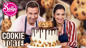 cookie torte mit pflaume chocolate chip cookie cake sallys welt
