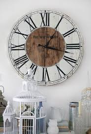 25+ Unique Pallet Clock Ideas On Pinterest | Wood Clocks, Diy ... Rustic Wall Clock Oversized Oval Roman Numeral 40cm Pallet Wood Diy Youtube Pottery Barn Shelves 16 Image Avery Street Design Co Farmhouse Clocks And Fniture Best 25 Large Wooden Clock Ideas On Pinterest Old Wood Projects Reclaimed Home Do Not Use Lighting City Reclaimed Barn Copper Pipe Round Barnwood Timbr Moss Clock16inch Diameter Products