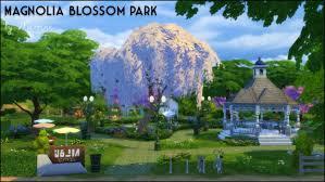 Magnolia Blossom Park at Martine s Simblr via Sims 4 Updates