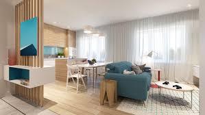 Colorful Modern Apartment Decor Adorable Home
