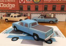 PAPERCRAFT 1963 DODGE D100 Crewcab Blue Pickup Paper Vehicle EZU ... Classic Trucks Revealed 1963 Dodge Power Wagon The Fast Lane Truck Truck Lineup Pinterest Trucks Biggest D100 Cummins Cversion Youtube Hemmings Find Of The Day D500 Daily W200 Quickcarshots Hd Car Shipping Rates Services Pickup Dart Streetlegal Factory Experimental Replica Hot Ram Rebel Trx Concept Tempe Other Pickups Town Dealer