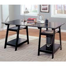 Office Table Desk Walmart by Coaster Trestle Style Office Desk Walmart Com