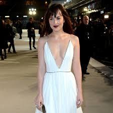dakota johnson u0027s dress 50 shades of grey uk premiere popsugar