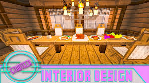 Modded Minecraft Dining Room Furniture Design Ideas StudTech Ep18