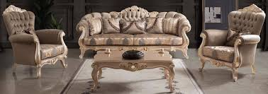 casa padrino luxury baroque living room set taupe bronze gold 2 sofas 2 armchairs 1 coffee table living room furniture in baroque style