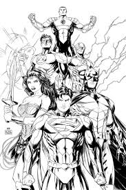 Adult Pics Of Dc Comic Book Coloring Pages Comics Justice League Pagesdc