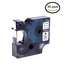100 7m To Feet GREENCYCLE Compatible Dymo D1 45013 Label Tape S0720530 047 Inch 12mm X 23 Use In Dymo LabelManager 100 200 210D 280 300 LabelManager PC