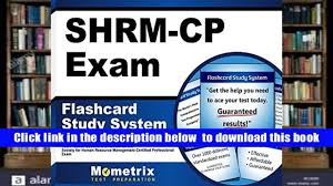 Download PDF Shrm Cp Exam Flashcard Study System Test Practice Questions Review For The