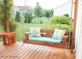 12 DIY Ideas For Patios Porches And Decks O The Budget Decorator