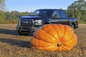 Largest Pumpkin Ever Grown 2015 by Happy Haul O Ween 2015 Ford F 150 Hauls Giant Pumpkin To Nyc Ny