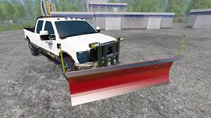 100 Plow For Truck D F250 Plow For Farming Simulator 2015