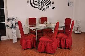 sultan palace 4er pack elastische stuhlbezüge stuhlhussen in