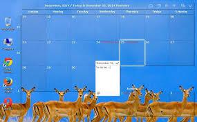 bureau windows 7 sur windows 8 desktop calendar