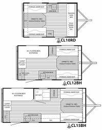 CampLite Travel Trailer Floorplans
