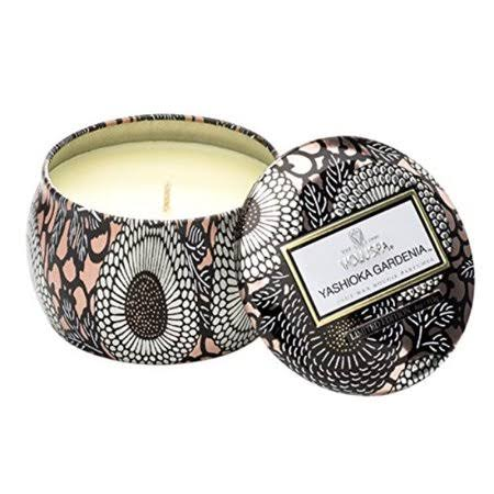 Voluspa Petite Decorative Tin Candle - Yashioka Gardenia, 4oz