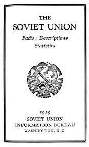 information bureau the soviet union facts descriptions statistics