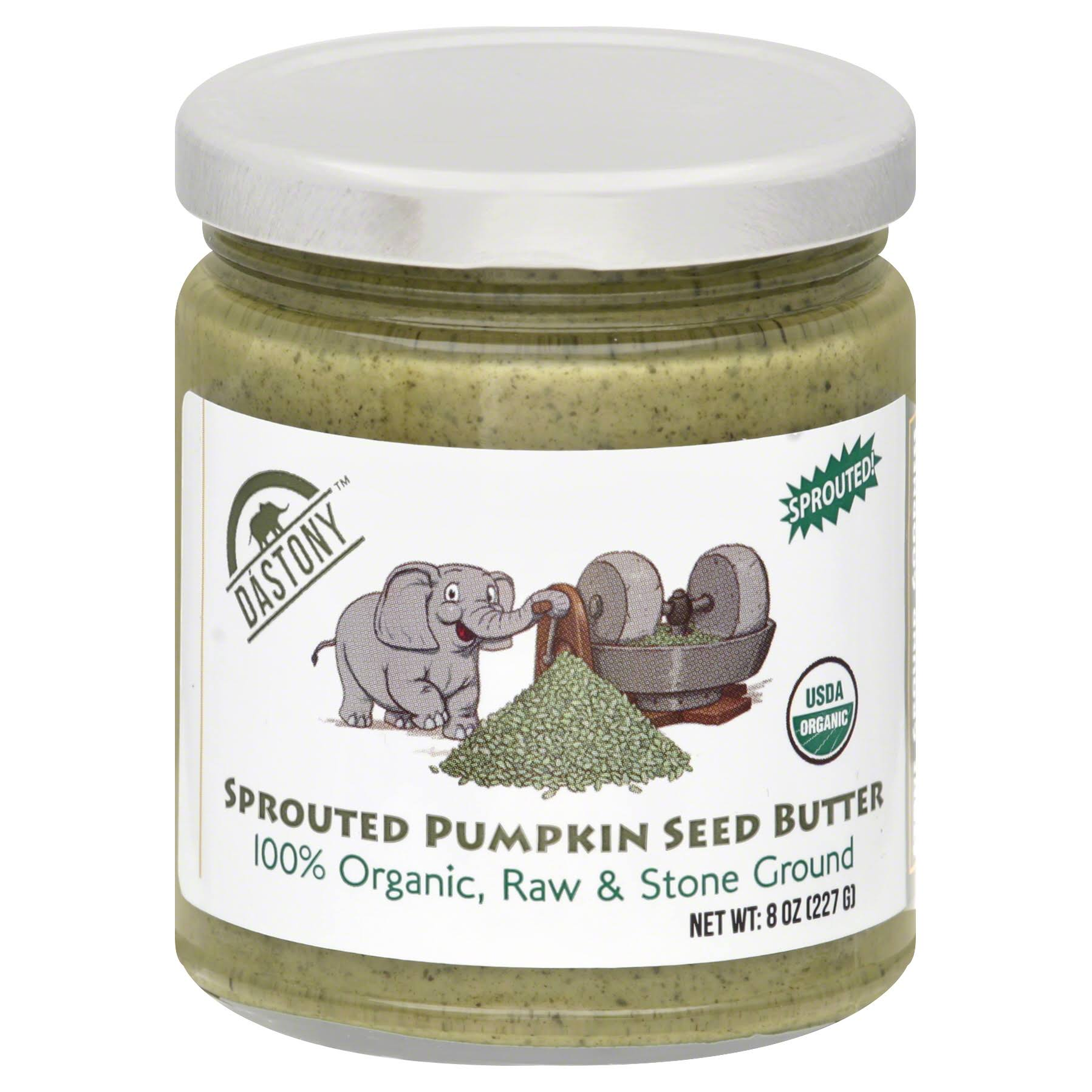 Dastony Sprouted Pumpkin Seed Butter - 8 Oz