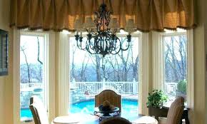 Valances For Dining Room Country Window Exciting White Kitchen Curtains Blue And Elegant French