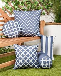 Image Is Loading Charcoal Grey Arabesque Collection Outdoor Cushions Waterproof Garden
