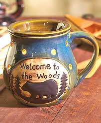welcome to the woods electric wax warmer or wax melts decorate