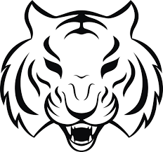 Tiger Head Tribal Tattoo