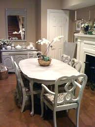 Chalk Paint Dining Room Tables Refinish Table Veneer Top Painting Best