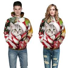 cat hoodies 3d print cat hoodies unisex orealexpress