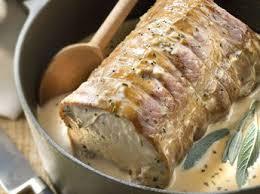 comment cuisiner un roti de dinde rôti de dinde sauce moutarde recettes femme actuelle